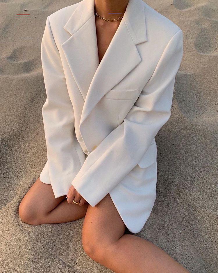 Pin Von M Mhizarci Auf M In 2020  Weiße Blazer Outfits