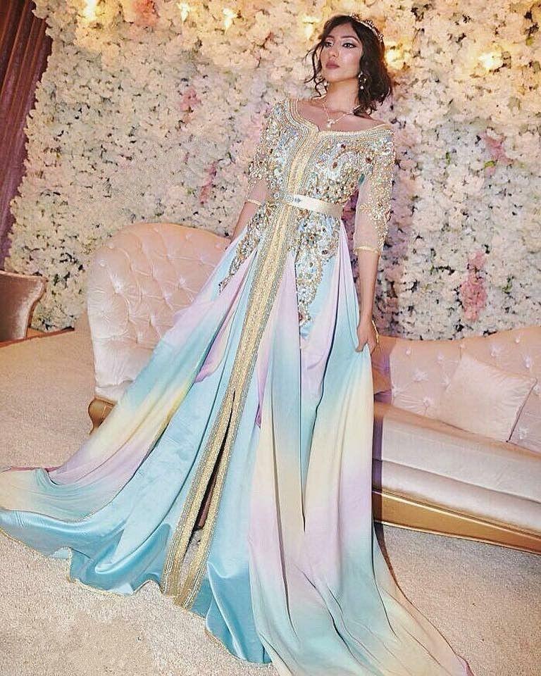 Pin Von Rachida Auf Caftan  Marokkanisches Kleid Kleider