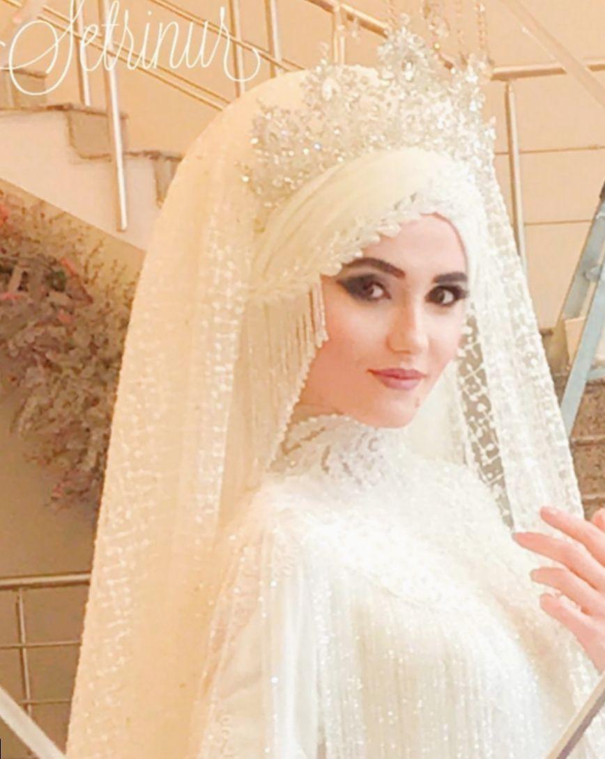 Pin Von Sinem Bingoel Auf Hijab Braut  Kleid Hochzeit