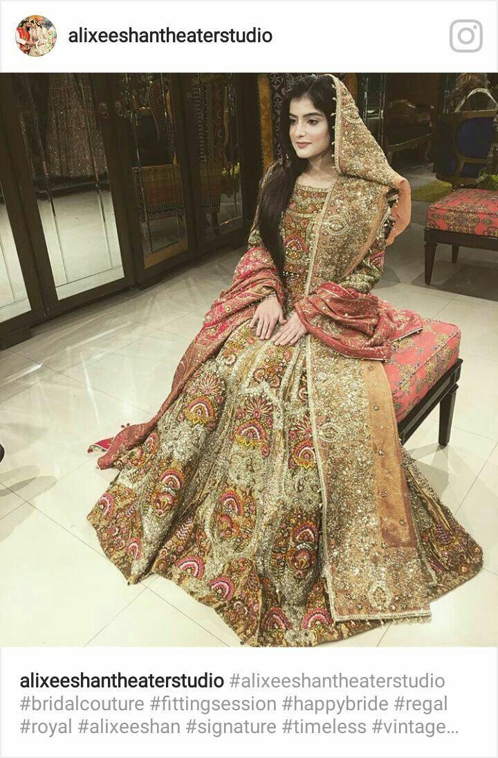 Pin Von Soniafarooq Auf Wedding Dress  Indische