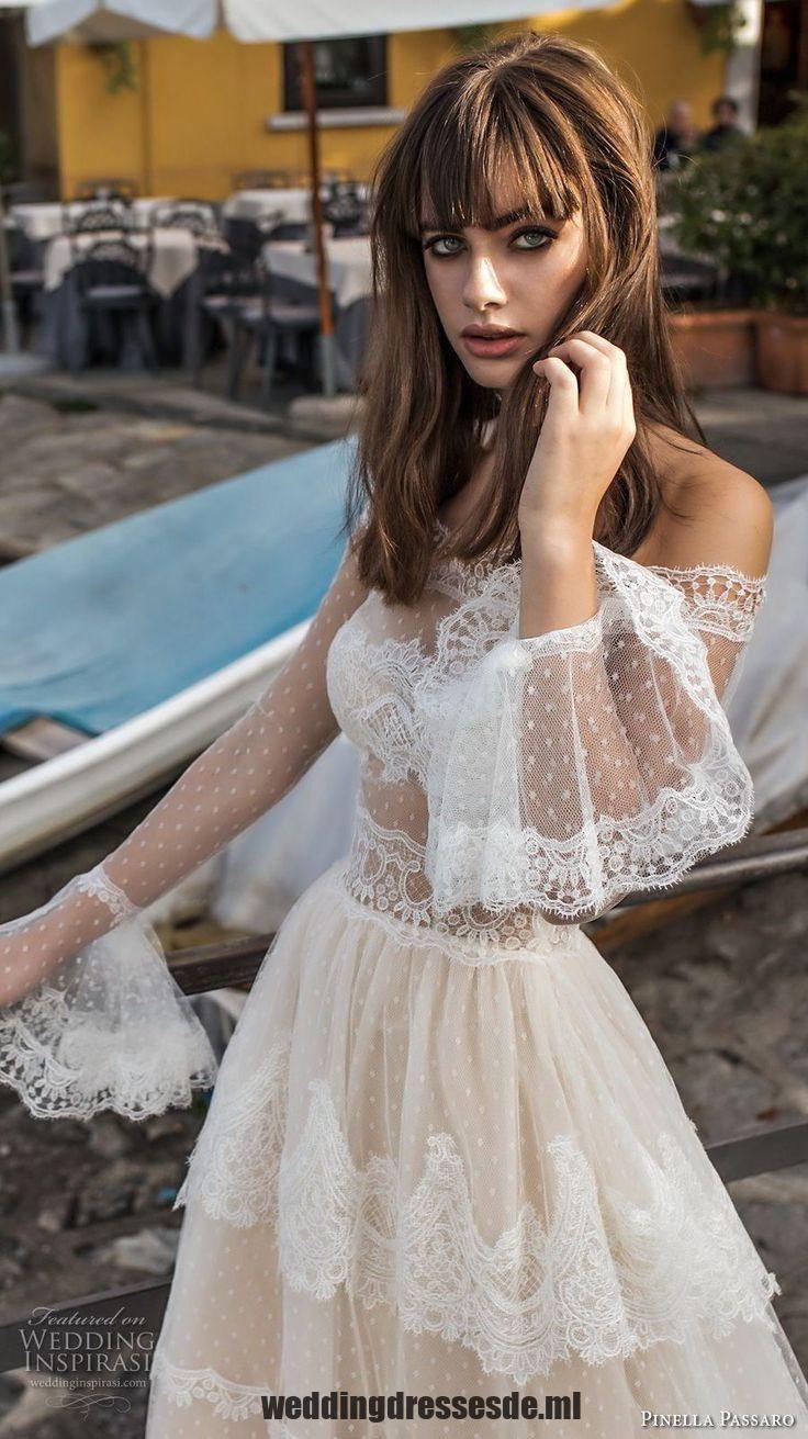 Pinella Passaro 2018 Braut Aus Der Schulter Lange Poet
