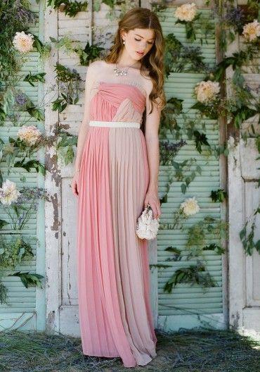 Pink Bridesmaid Dresses Imageallie Dolan On My Style