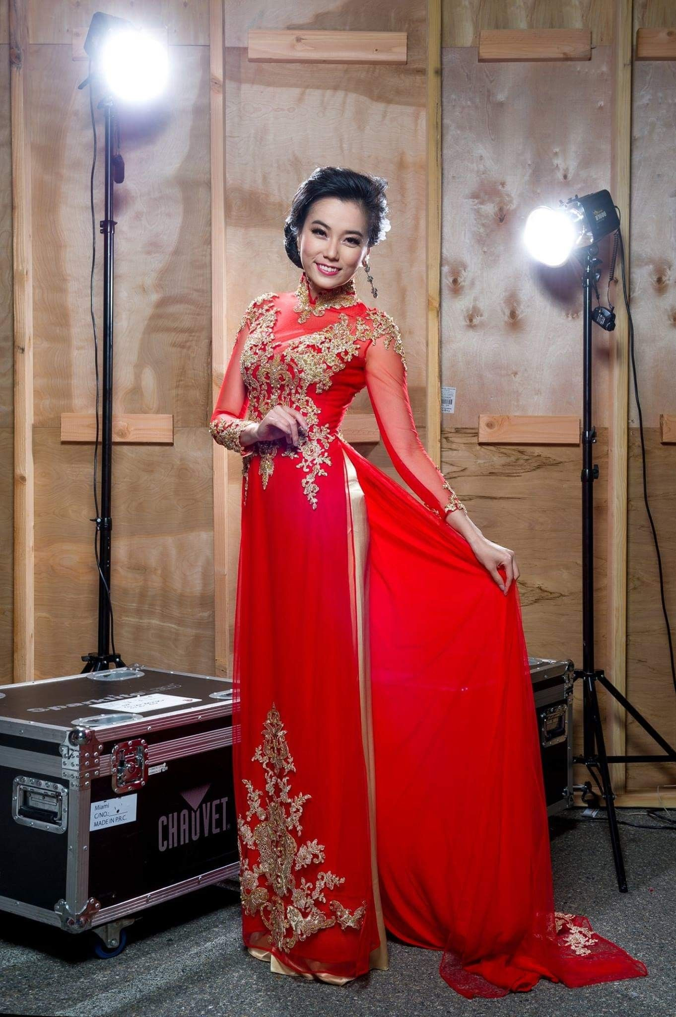 Pinkim Loan On Vietnamese Culture  Formal Dresses
