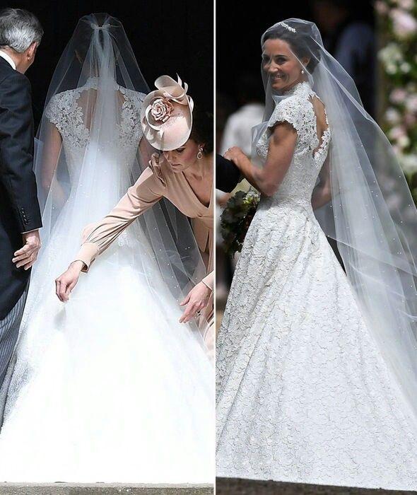Pinravena On Royalty  Pippa Middleton Wedding Dress