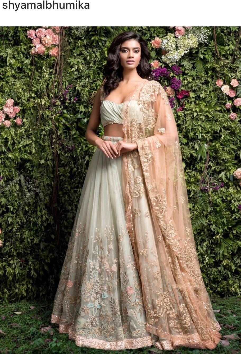 Pinterest • Niharikabhardwaj  Indische Brautmode