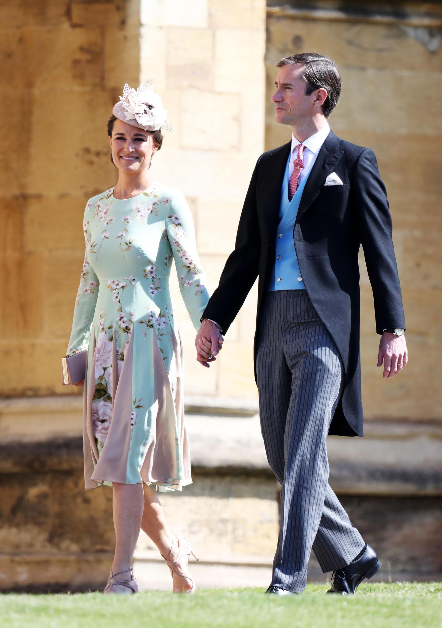 Pippa Middleton Ihr Auftritt Bei Der Royalen Hochzeit