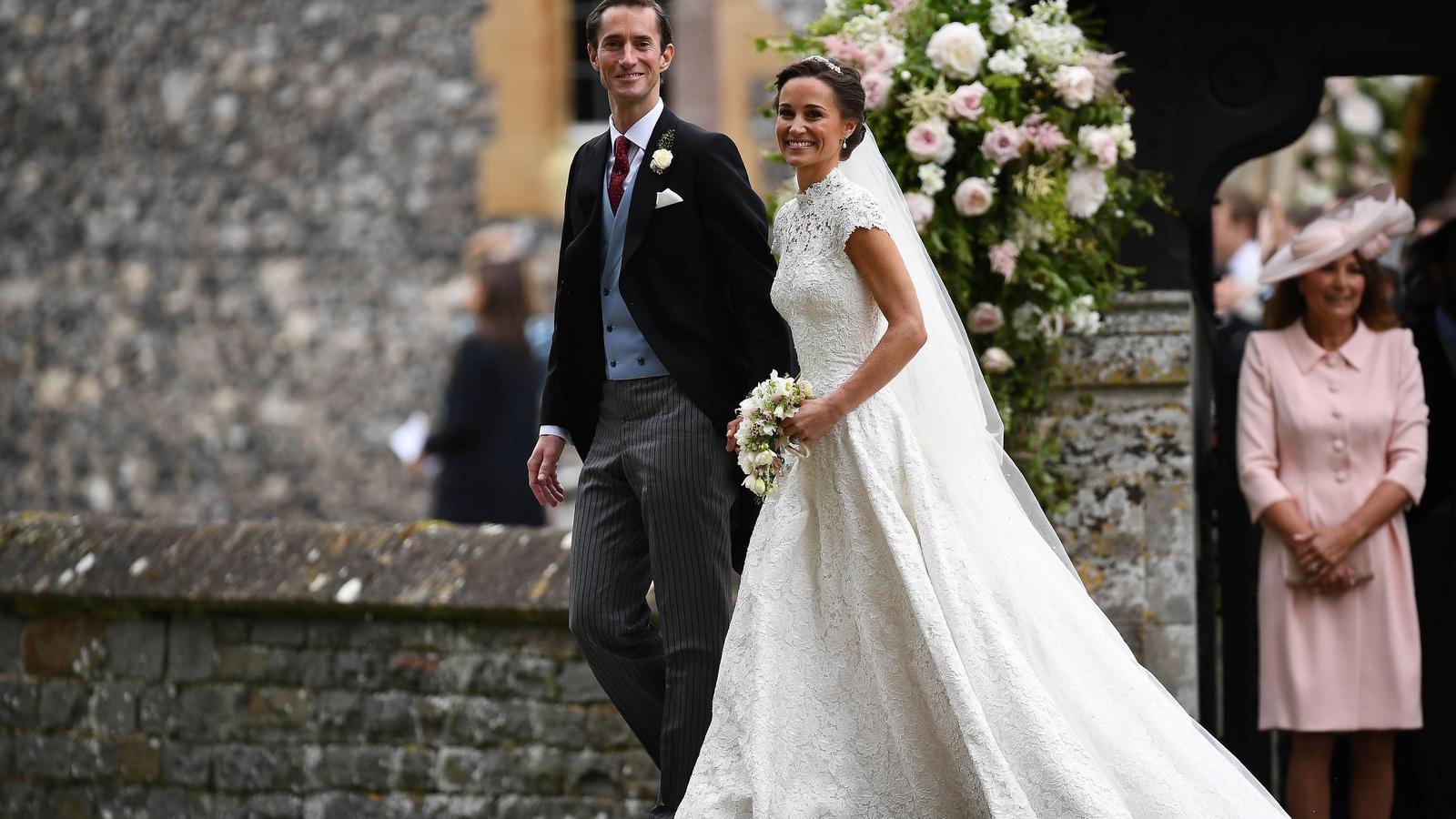 Pippa Middleton Wird Zur Modekönigin Bei Ihrer Hochzeit