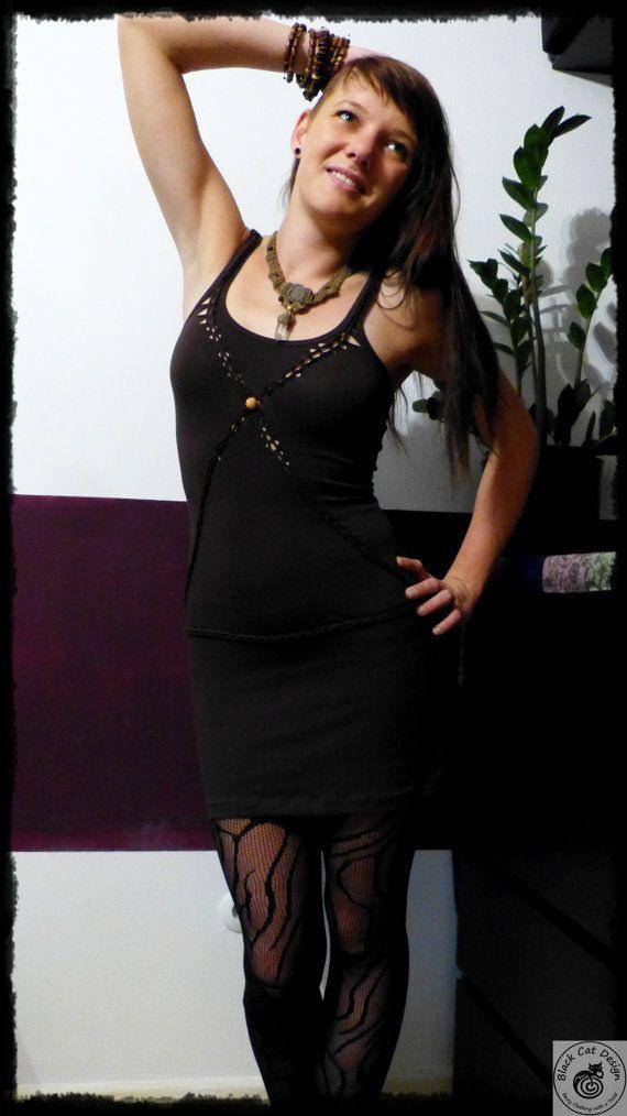 Pixie Tribal Kleid Misun Von Blackcatdesing Auf Etsy