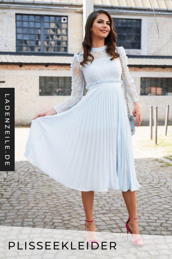 Plisseekleider  Plissee Kleid Kleider Für Festliche