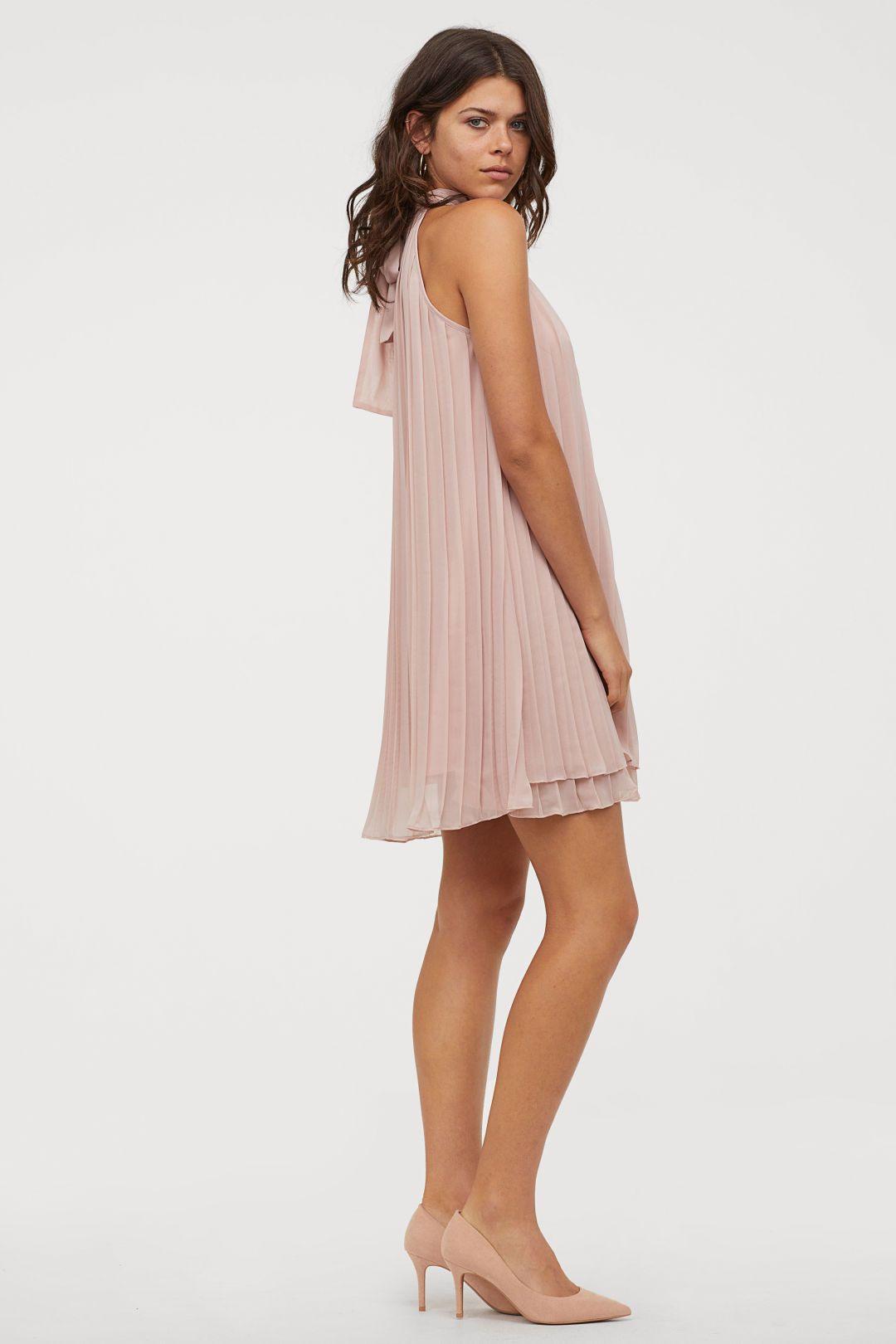 Plissiertes Kleid  Kleider Hm Kleider Modestil