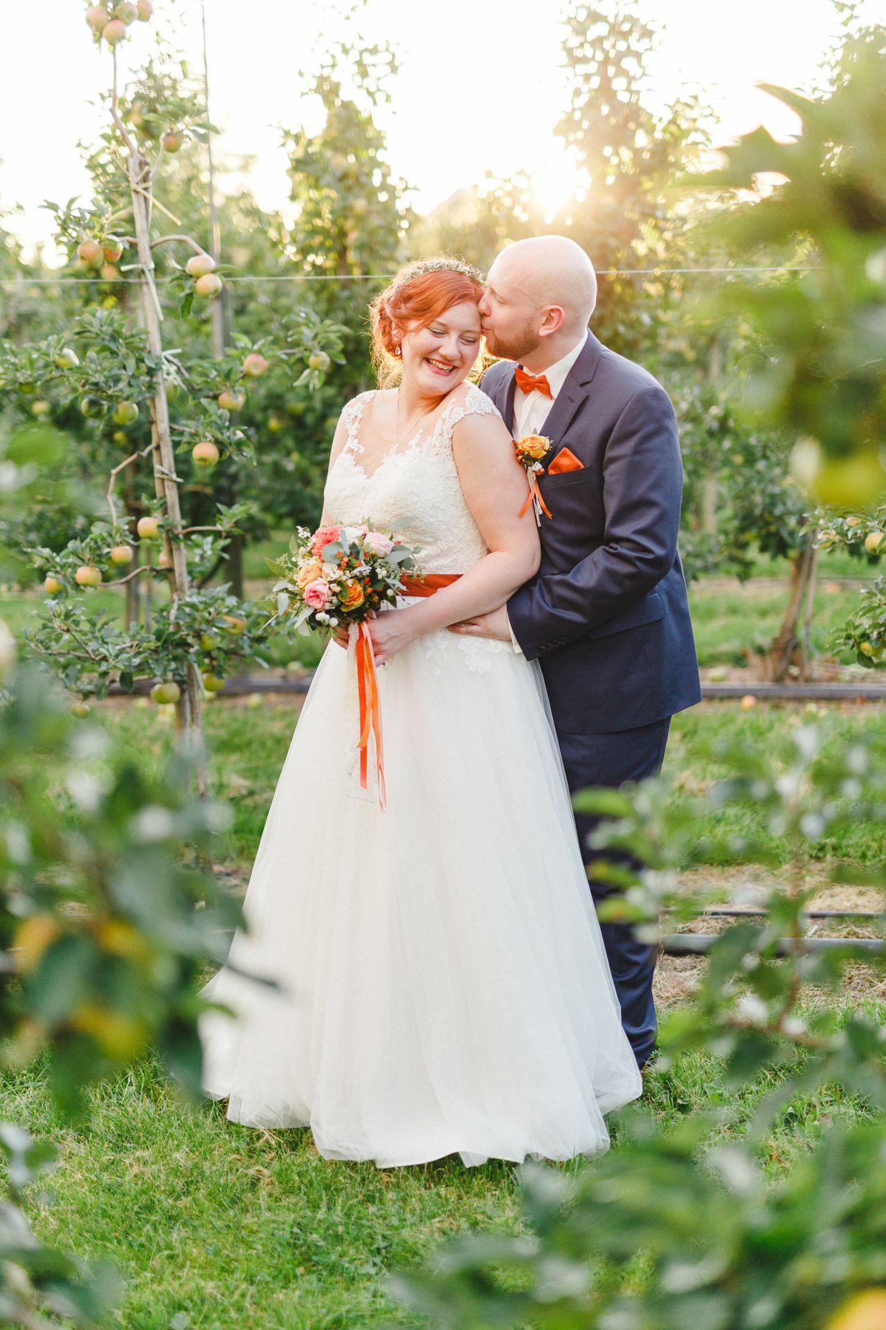 Plus Size Braut Maria // Hochzeit Mit Kupferdetails