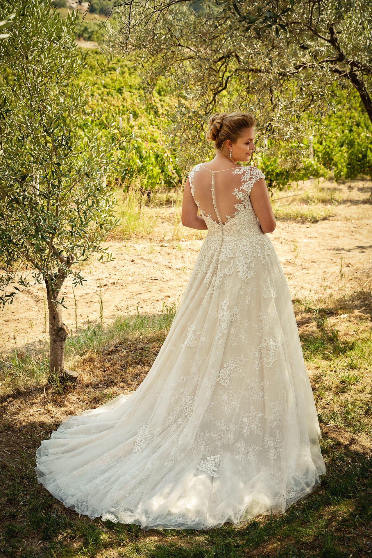 Plus Size Brautkleid Von Eddy K In 2020  Hochzeitskleid