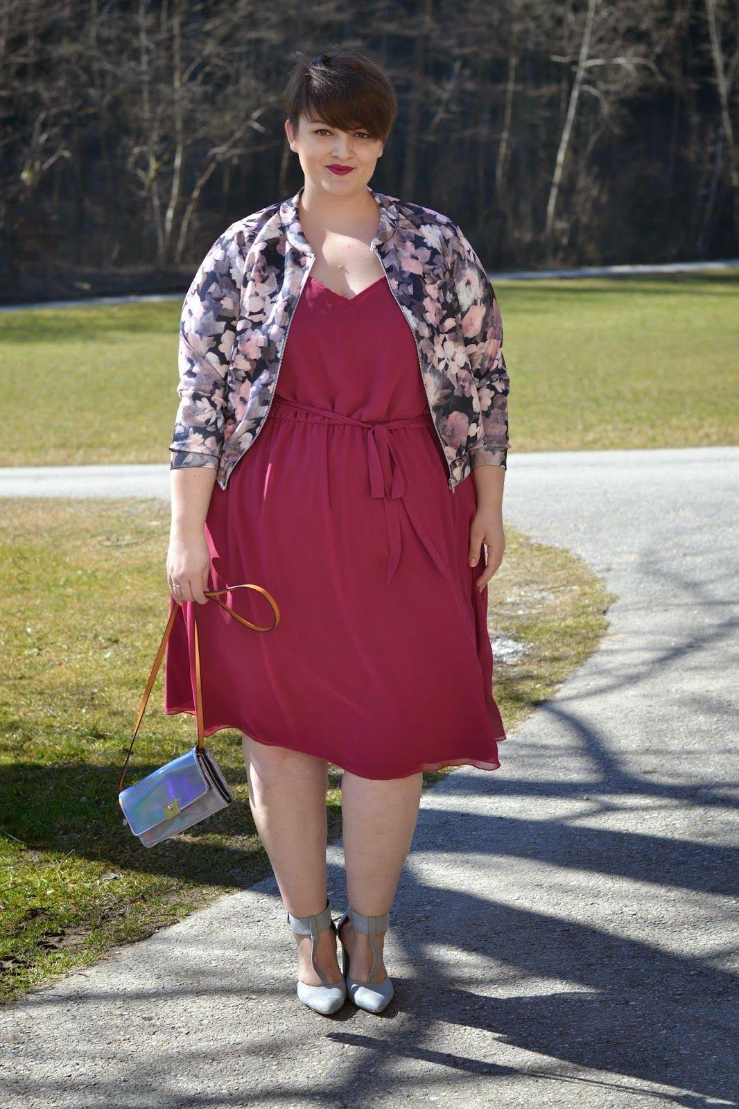 Plus Size Fashion  Curvy Claudia Happy Women'S Day