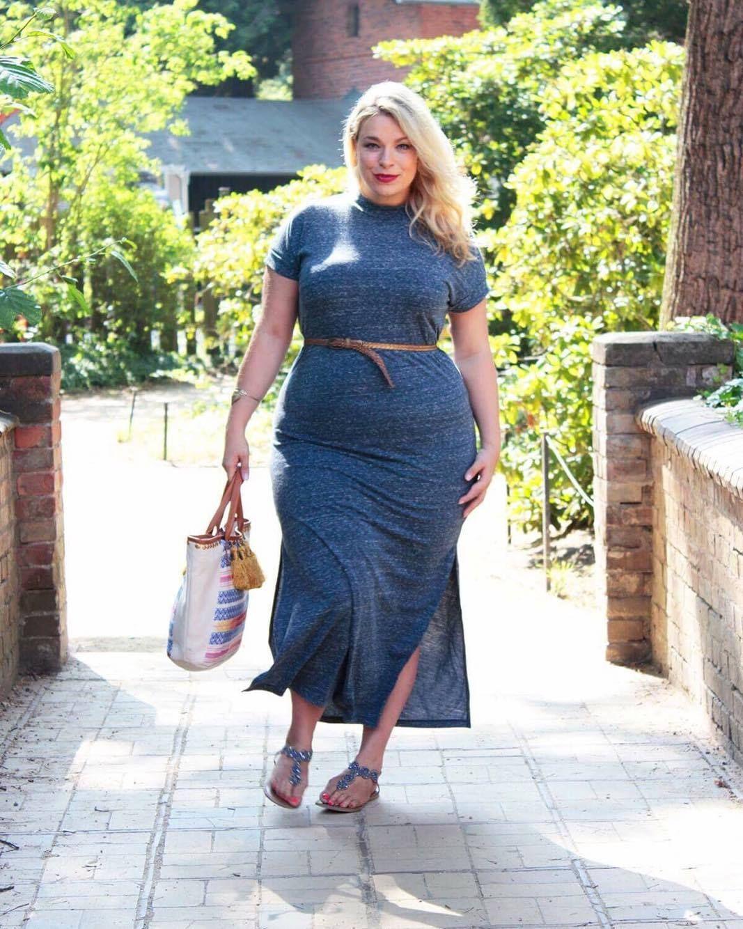 Plus Size Junarose Kleid  Selbstwertfragen  Frau Neue