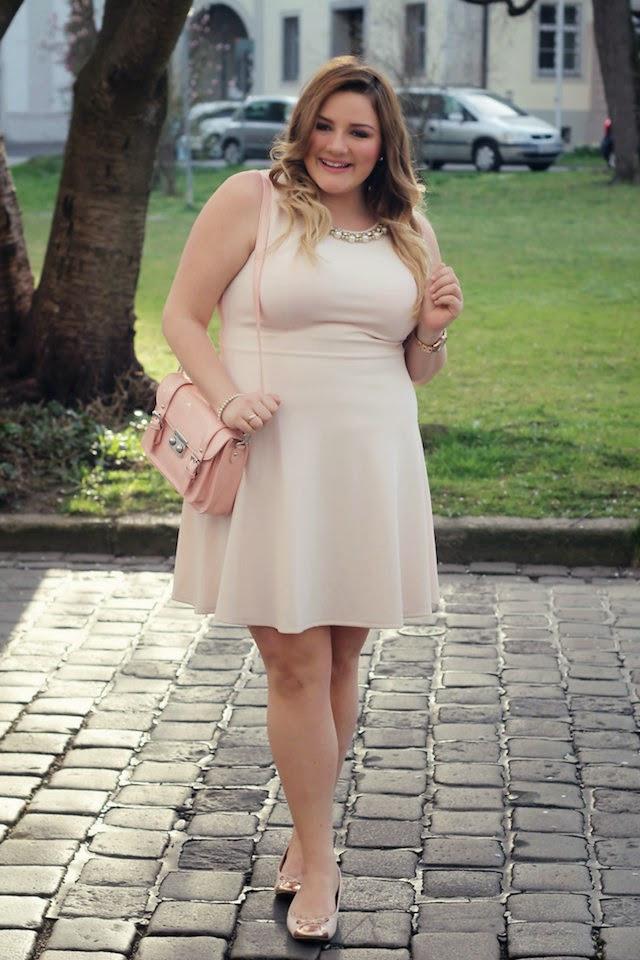 Plus Size Outfit  Rosa Kleidforever 21  Theodora