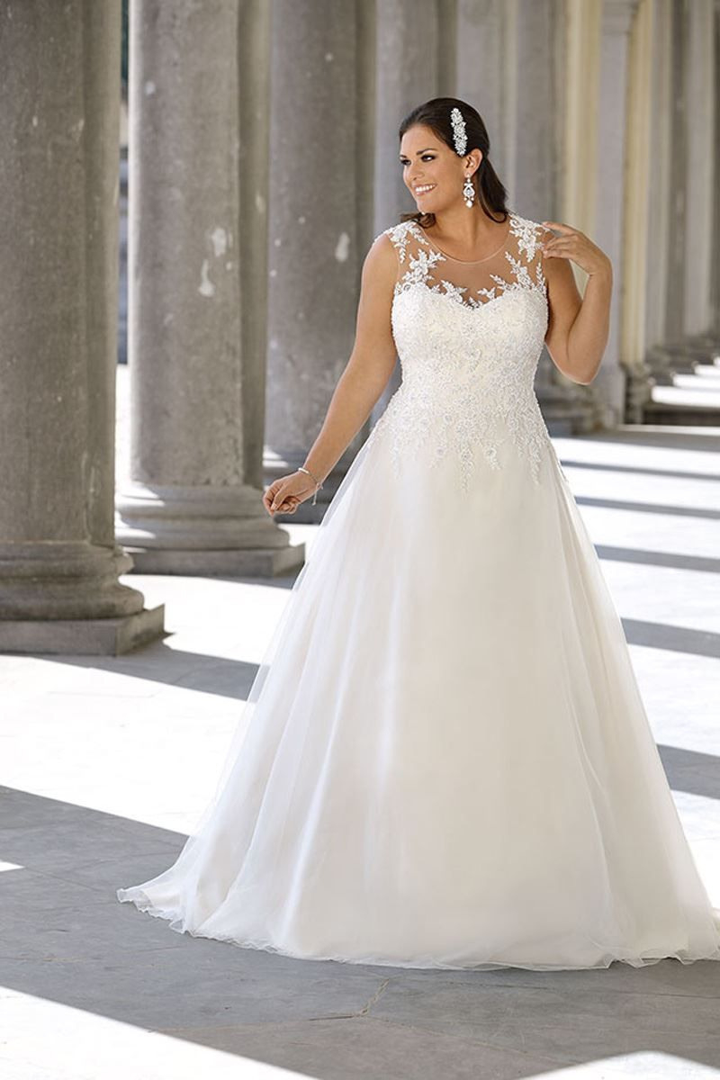 Plus Size Übergröße Curvy Bride Bride Wedding