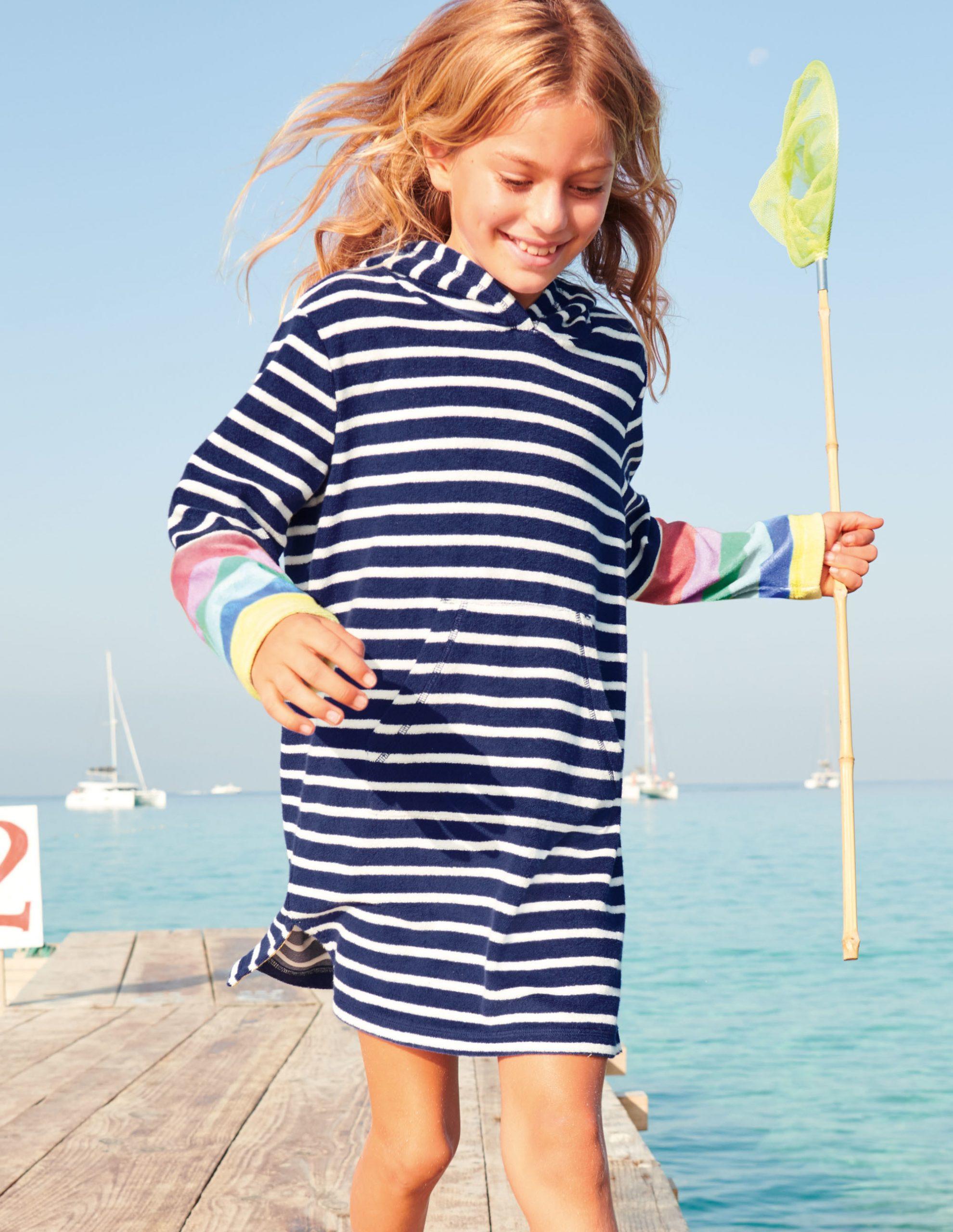 Podsjetimo De Exemplu Razdvajanje Frottee Kleid Strand