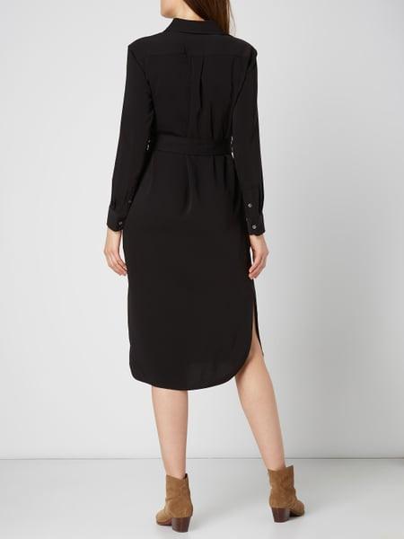 Polo Ralph Lauren Blusenkleid In Midilänge Mit