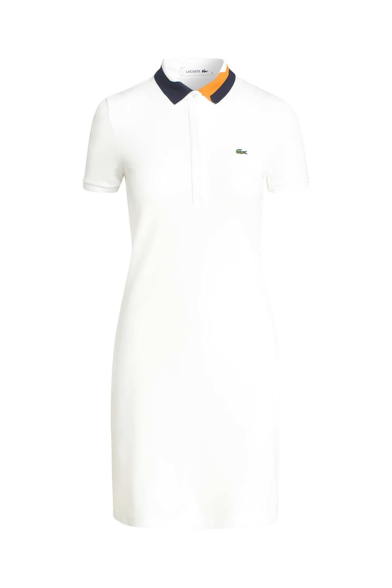 Polokleid Weiß  Lacoste » Günstig Online Kaufen