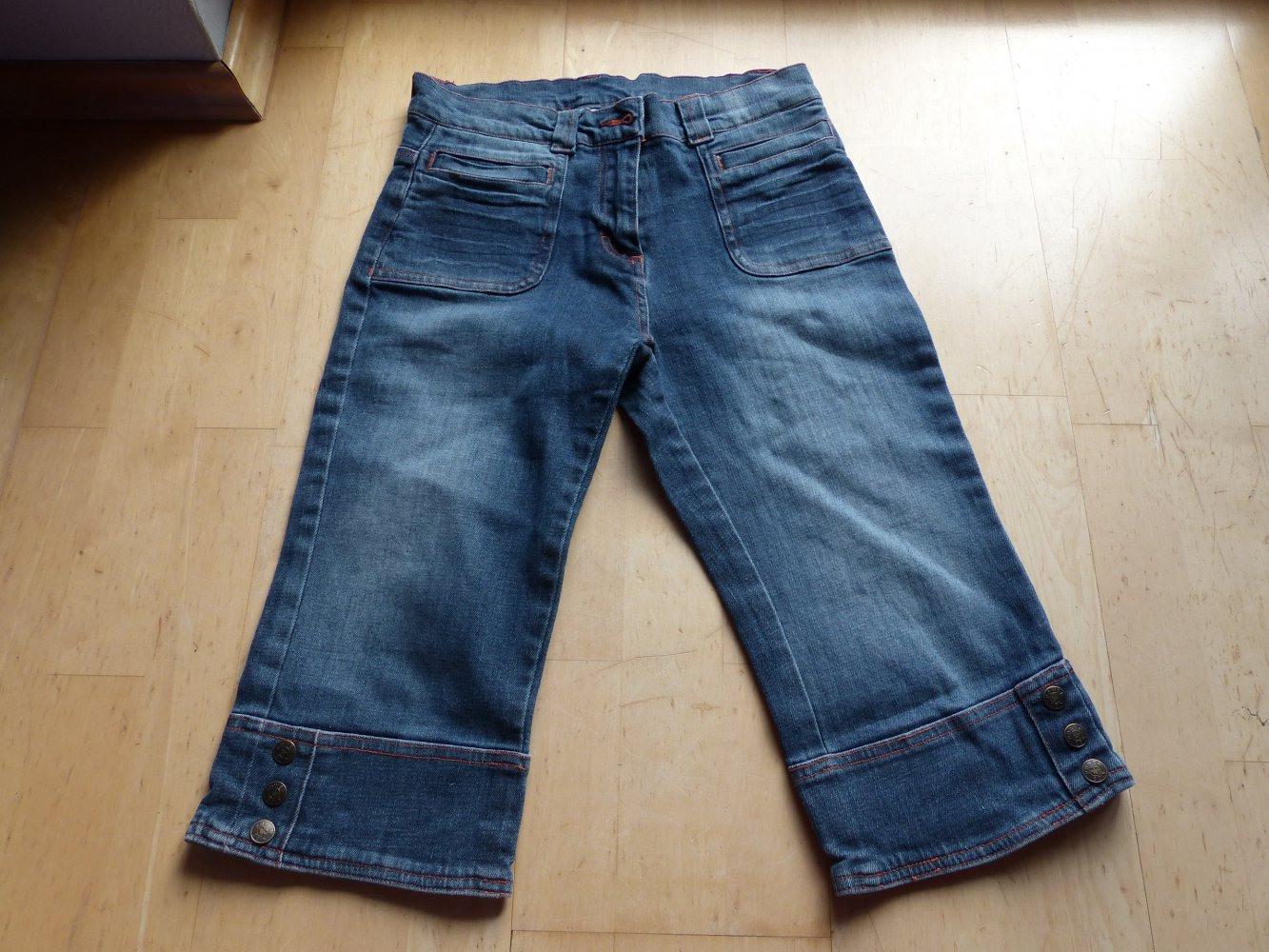 Power Girls  Jeans Bermuda 152  Neu  Stone Washed