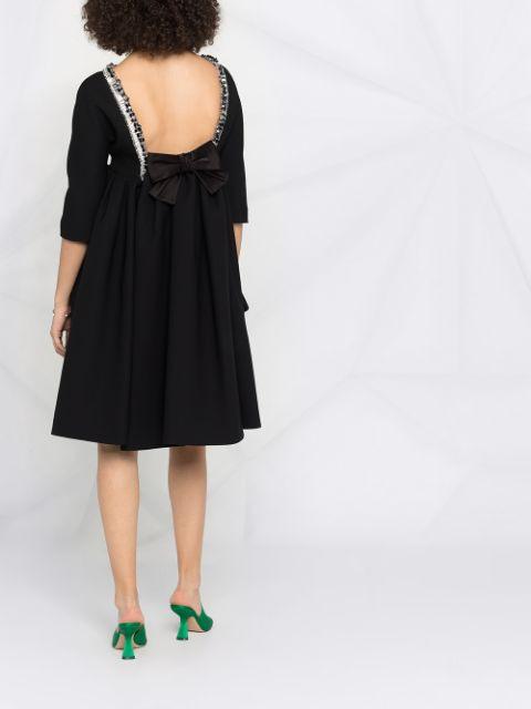 Prada Kleid Mit Verziertem Kragen  Farfetch