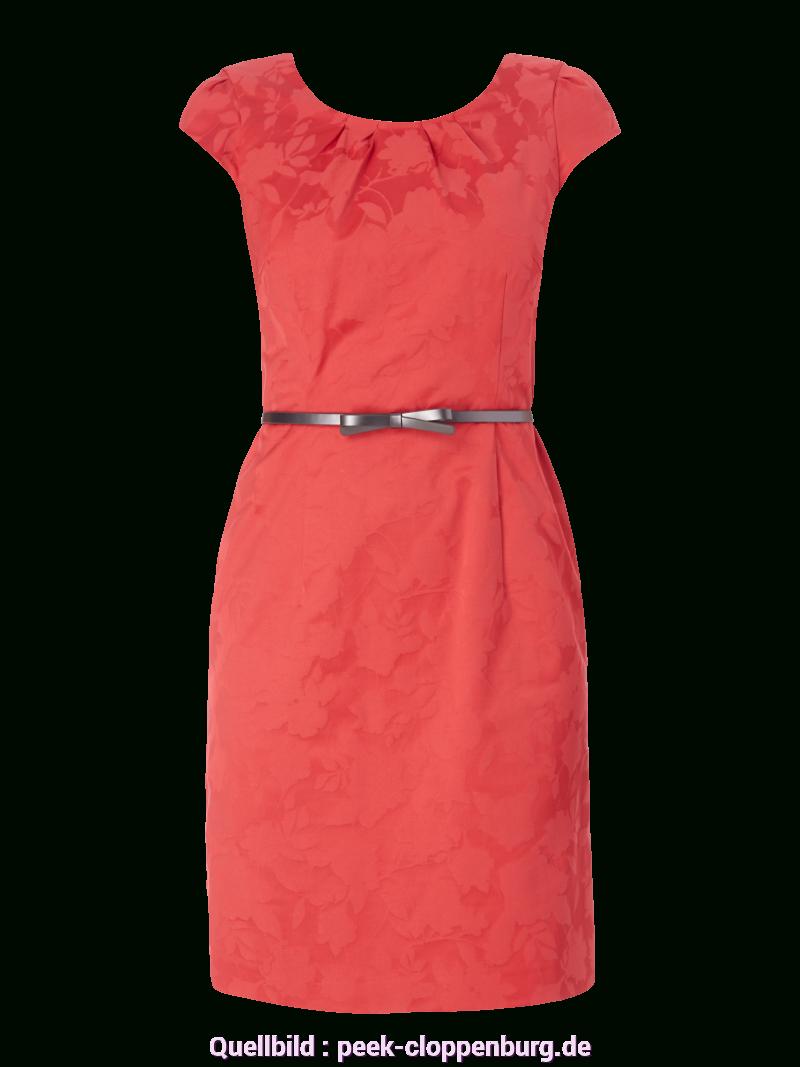 Prämie Comma Rotes Kleid Comma Kleid Mit Floralem Muster