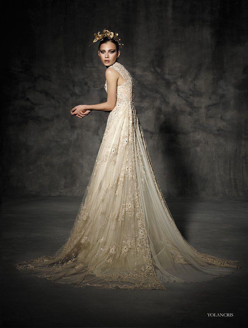 Prêtàcouture Yolancris Orchid Couture Bridal Mit