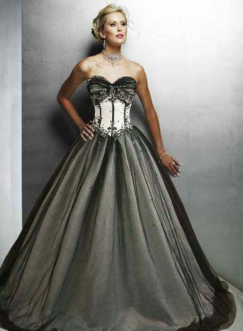Pretty13  Schwarzes Kleid Zur Hochzeit Brautkleid