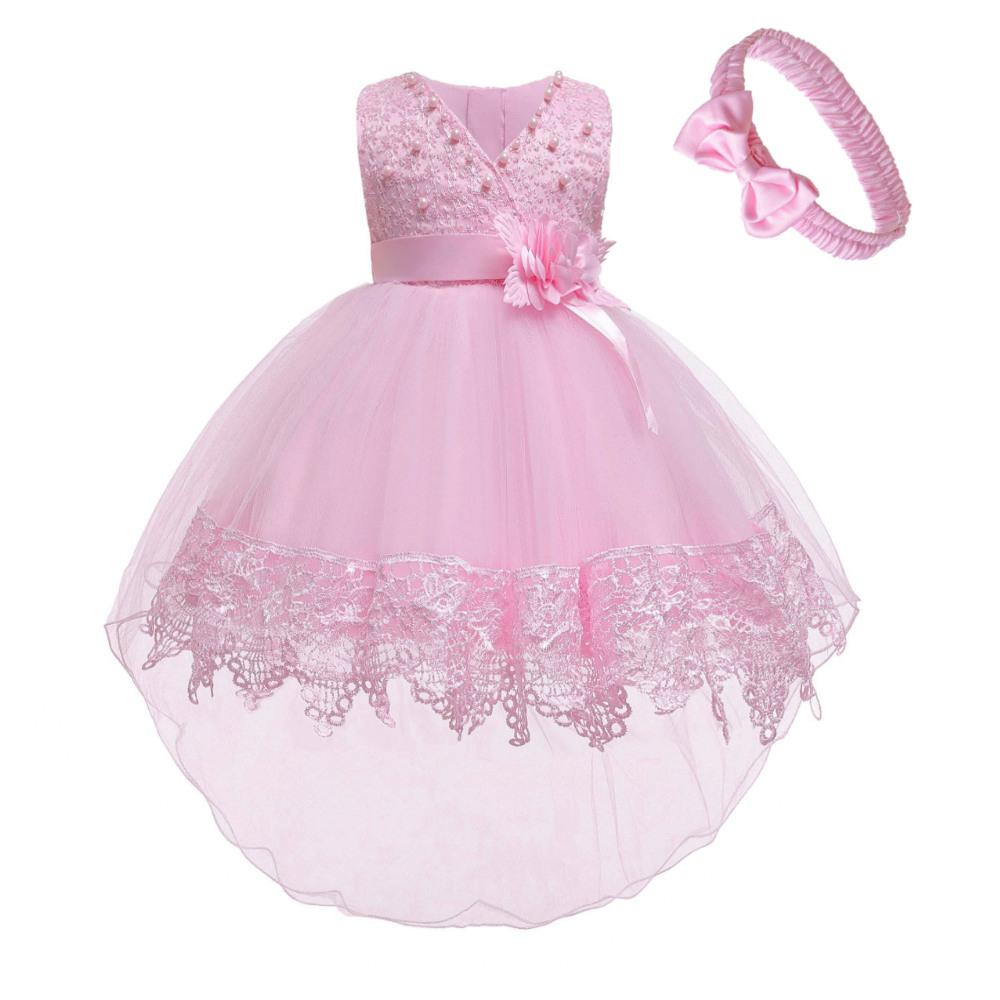 Prinzessin Kinder Baby Kleid Hochzeit Ärmellose