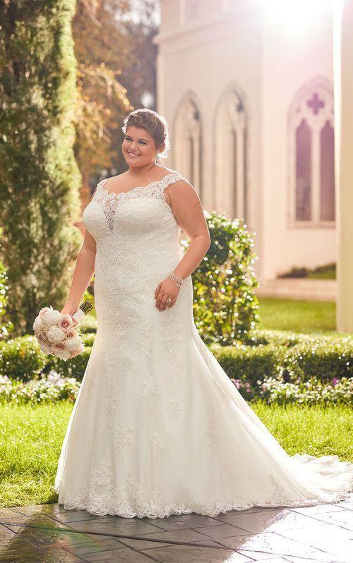 Prinzessin Plus Size Brautkleid  Brautkleid Übergröße