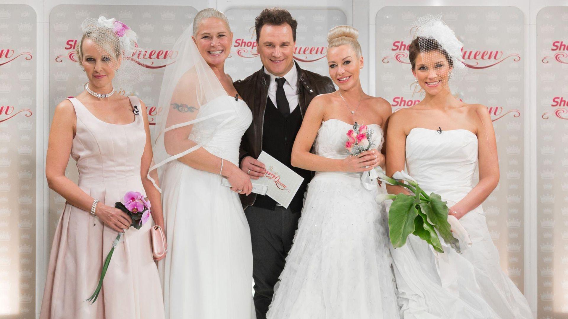 Promi Shopping Queen Wer War Die Schönste Braut