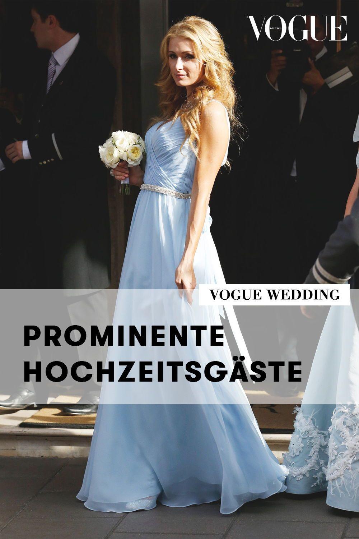 Prominente Hochzeitsgäste So Feiern Stars Auf Hochzeiten