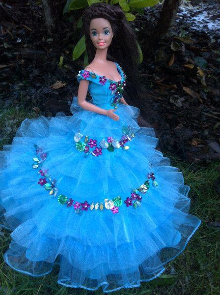 Puppenkleidung  Barbiekleider Sissis Verlobung  Ein