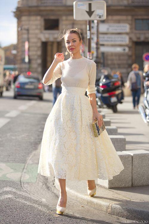 Quelle Jupe In 2019  Stil Standesamt Kleidung Und Brautmode