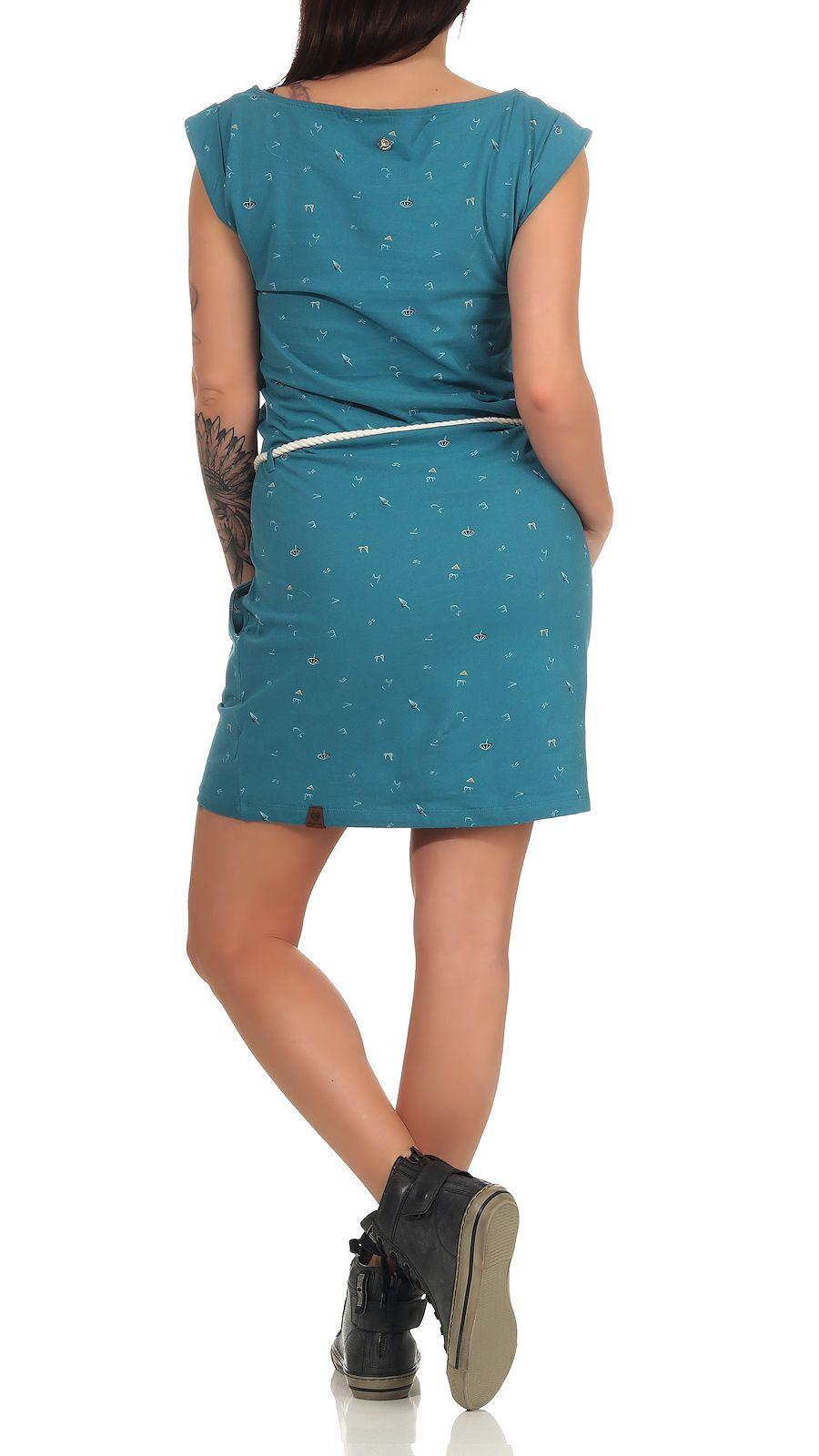 Ragwear Damen Kleid Tag A Organic  Ragwear  Marken  Le