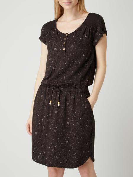 Ragwear Kleid Aus Viskose Modell 'Danila' In Grau