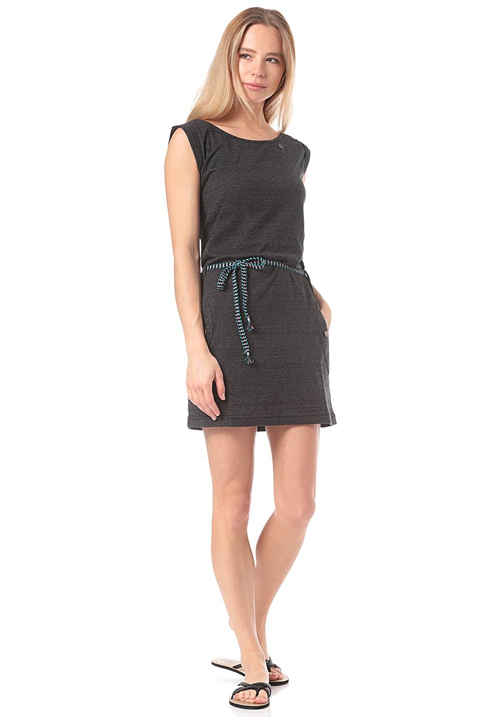 Ragwear Tag  Kleid Für Damen  Schwarz  Planet Sports