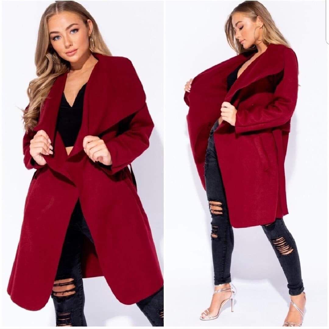 Red Dress Jacket  Kleid Mit Jacke Jacken Rot Anziehen