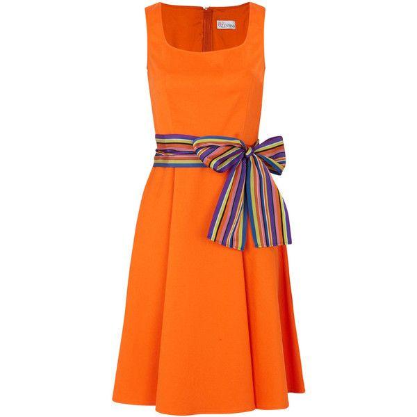 Red Valentino Stretch Cotton Twill Dress 635 Found On