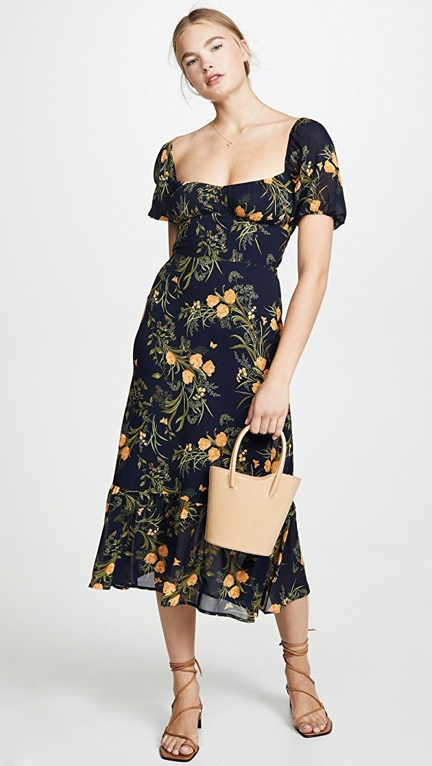 Reformation Hannah Dress  Designer Dresses Casual