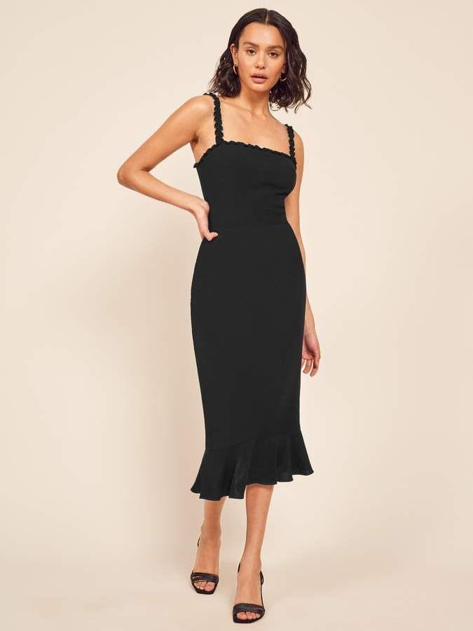 Reformation Wilshire Dress  Modestil Kleiderstile