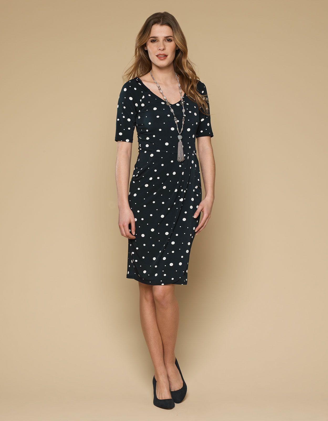 Renee Spot Shapewear Dress  Navy  Monsoon We All Want To