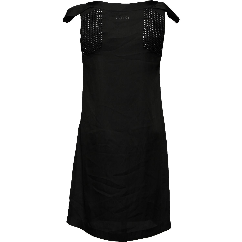 Replay Damen Kleid Etuikleid W9775 Schwarz