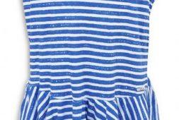 kleid-blau-weis-gestreift