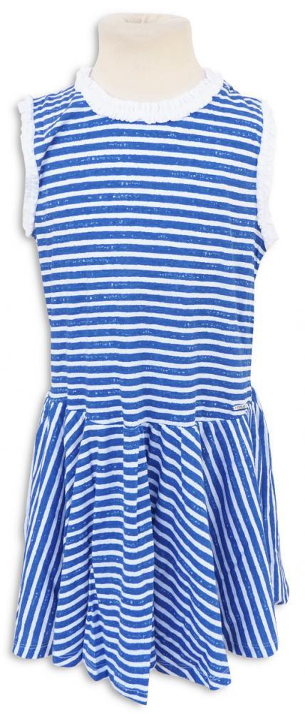Replay  Sons Weiches Jersey Kleid Blau Weiss Gestreift