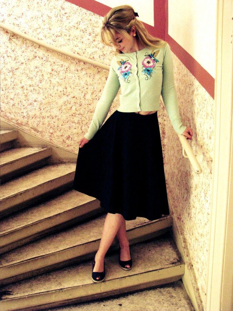 Retro Kleidung Für Den Bunten Herbst  Retro Kleidung