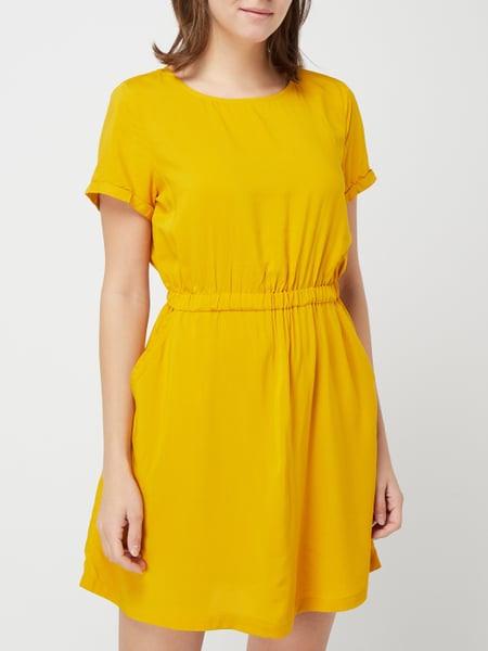Review Kleid Mit Gummizug In Gelb Online Kaufen 4011474