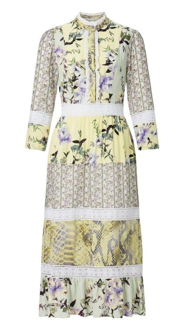 Rich  Royal  Damen Maxi Kleid  Maxi Dress  Original
