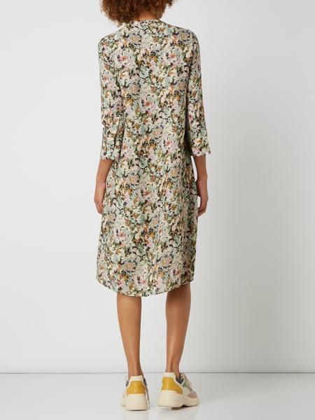 Rich  Royal Kleid Aus Viskose Mit Biesen In Grün Online