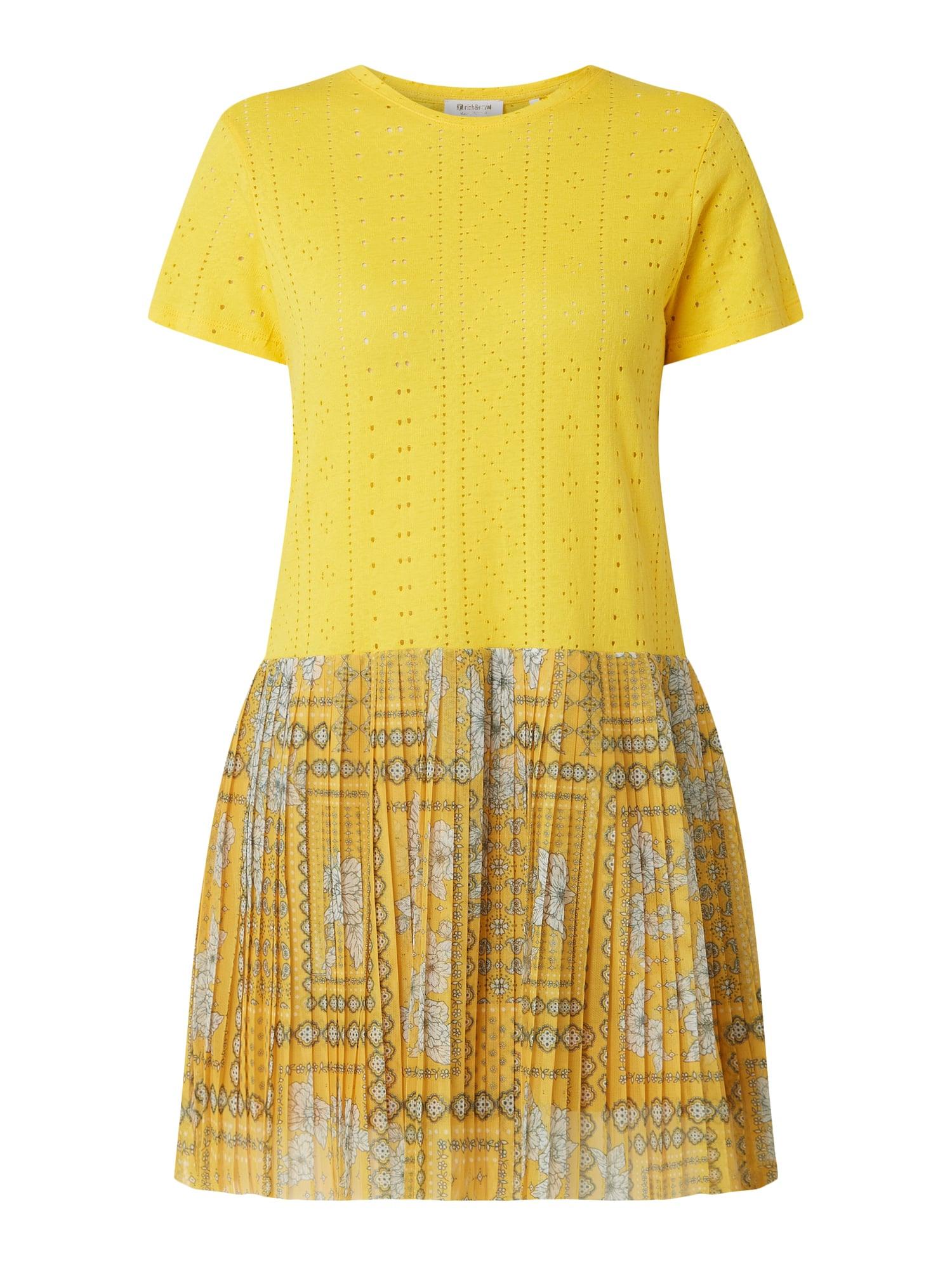 Rich  Royal Kleid Im 2In1Look Mit Plisseefalten In